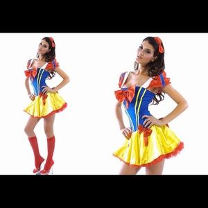 Sexy Snow White Halloween Costume